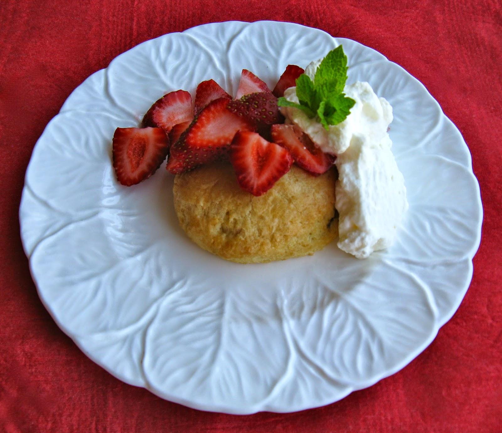 Miss Patisserie September Strawberry Shortcake Recipe