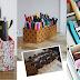Faça você mesmo: objetos para organizar o home office