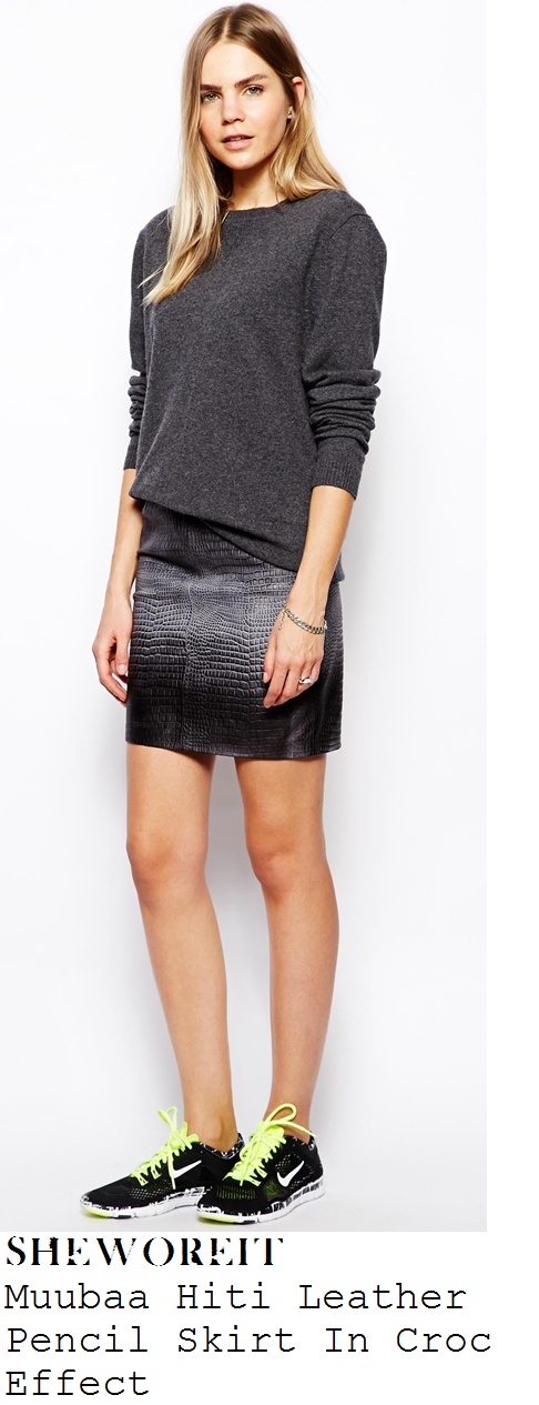ferne-mccann-black-and-grey-crocodile-snakeskin-effect-leather-mini-skirt-radio-1