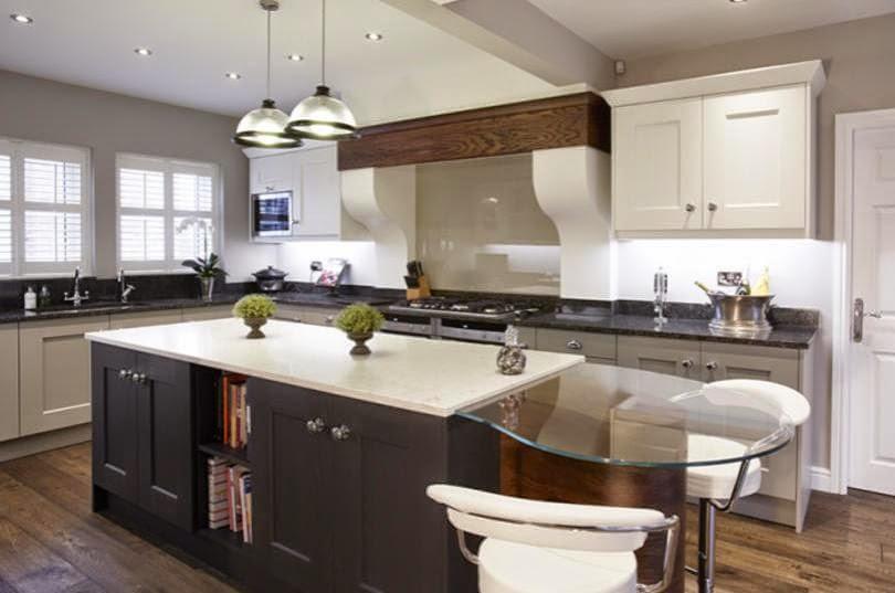 30 modelos de mesas y barras para cocinas de todos los - Barras desayunadoras para cocinas pequenas ...