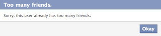 more than 5000 friend limit on facebook