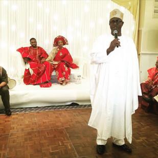 segun Odegbami daughter and Solomon Shonaiya wedding