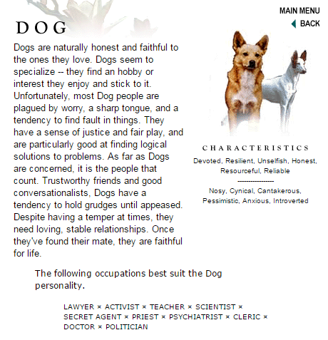 the dog essay in english