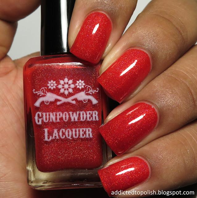 gunpowder lacquer little red wagon