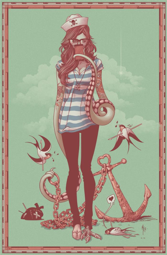 ilustraciones por Alex Arizmendi