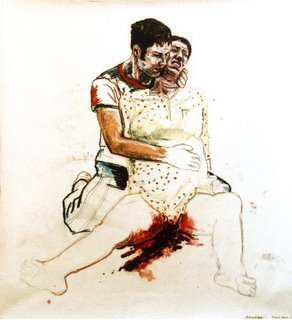 gambaran kejadian abortus imminens