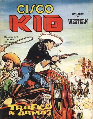 CISCO KID Nº 002