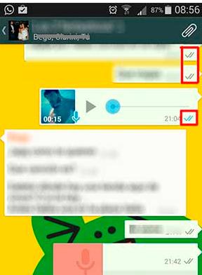 doppie spunte gruppi whatsapp