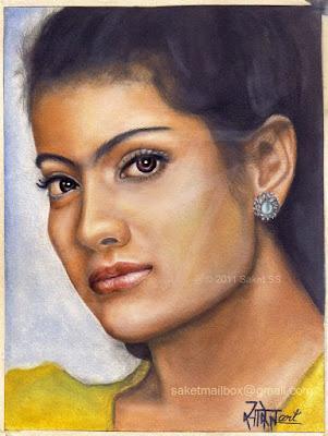 Kajol Painting