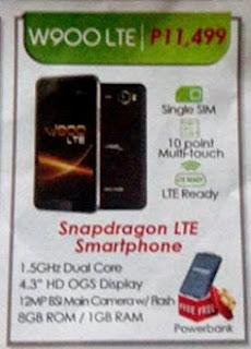 W900 LTE