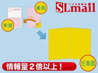 2倍以上の情報が載せられる「SLメール」の図解