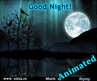 Buenas noches - tarjeta animada