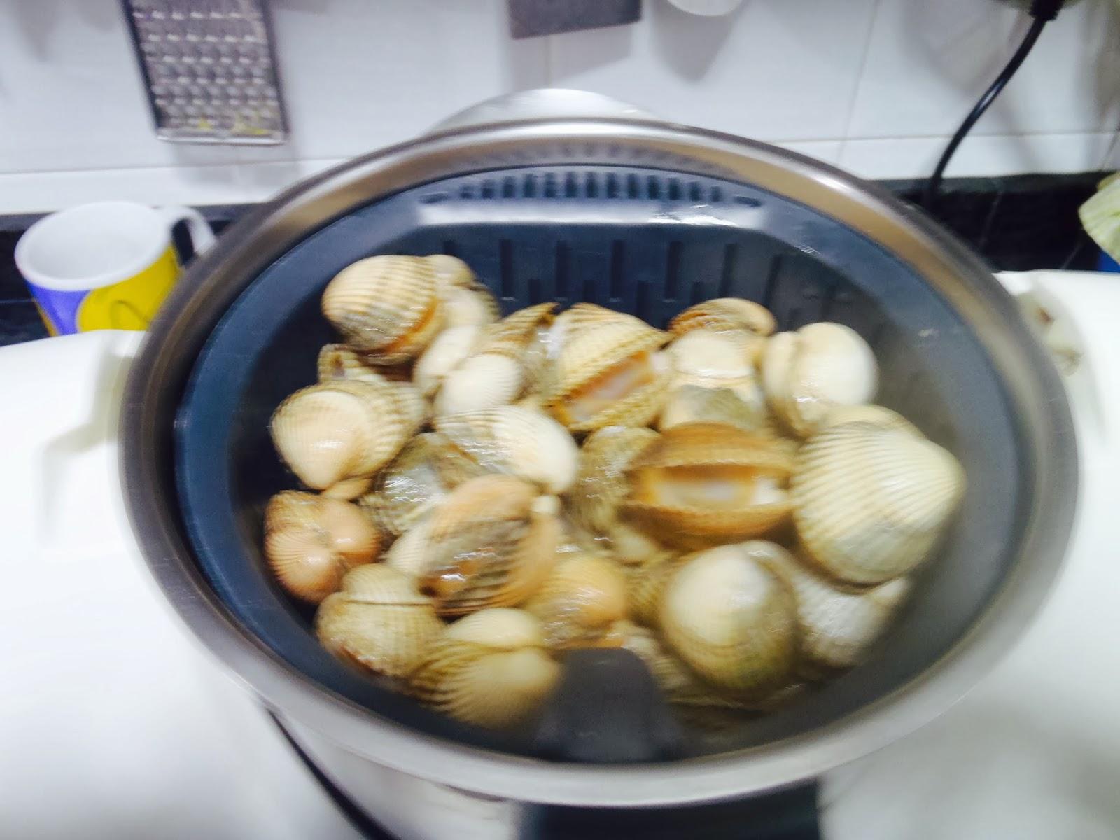 Berberechos al vapor en varoma y cestillo blogs de - Como cocinar berberechos ...