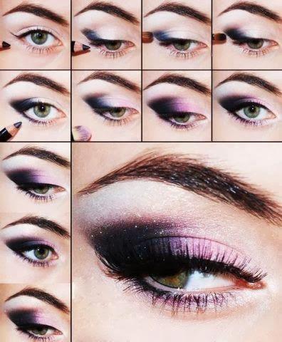 Tutoriais de Maquiagem para Noite