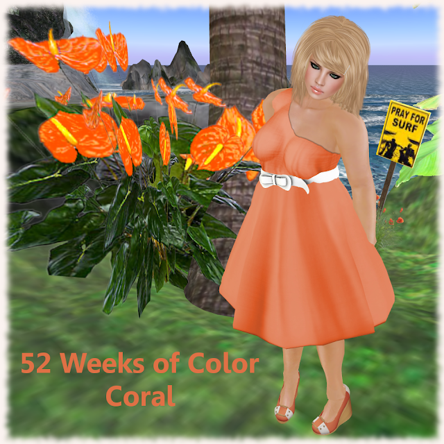 52+Weeks%257ECoral 52 Weeks of Color: Coral