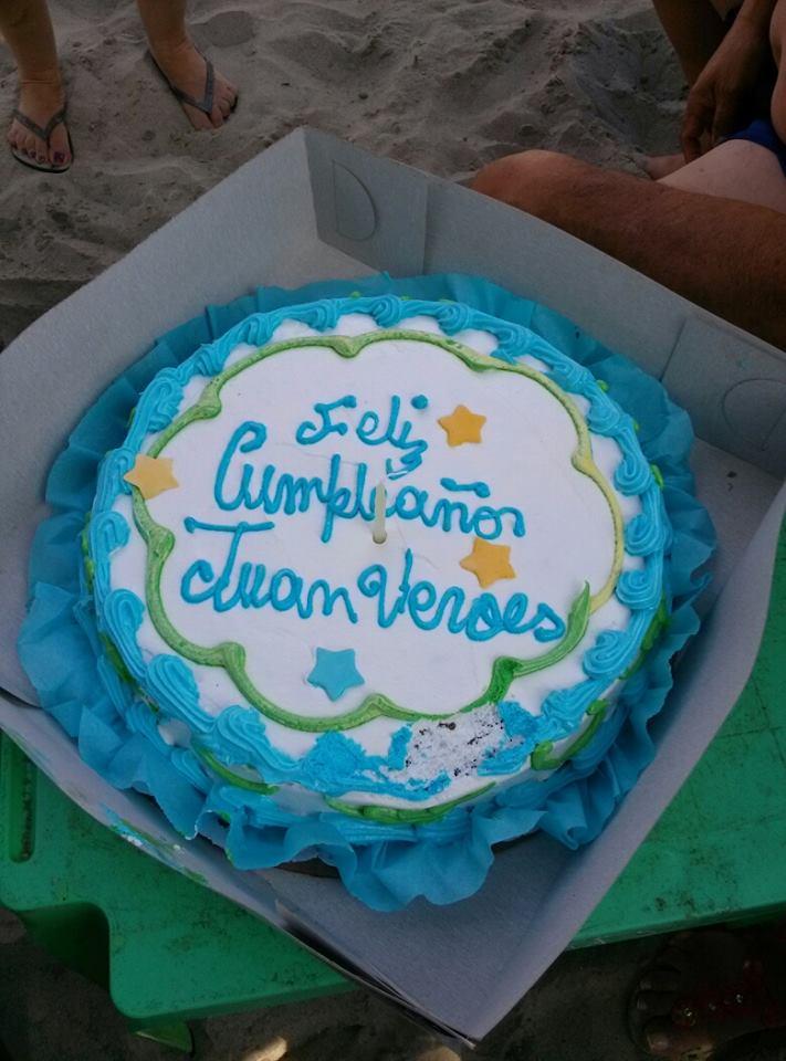 En  mis  75 años se picaron 7  tortas