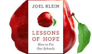 Joel Klein's book cover Lessons of Hope