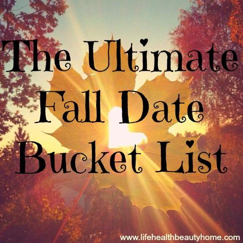 ultimate dating bucket list
