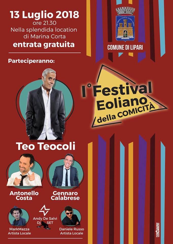 1° Festival Eoliano della Comicità