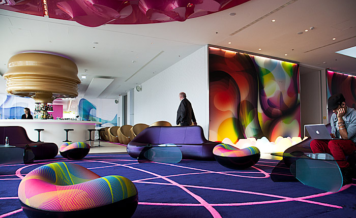 The Nhow Hotel In Berlin Design By Karim Rashid Interior