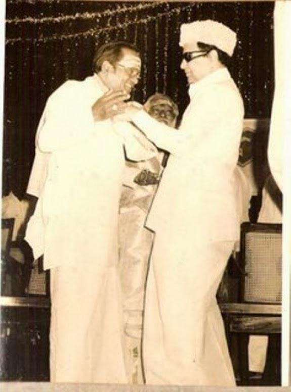 MGR with T.M. Soundararajan