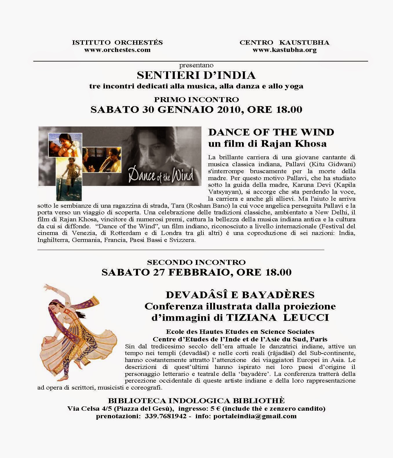 Danza Indiana e Cinema Indiano