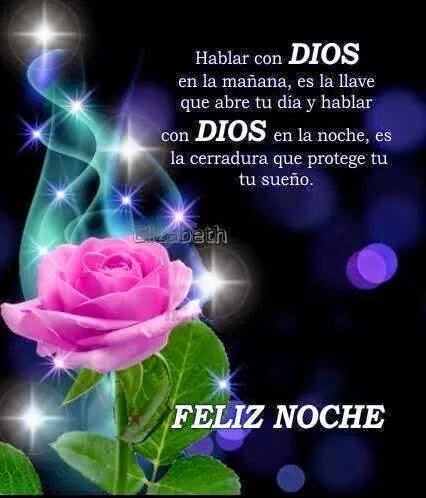 Imagen Feliz Noche Con Dios