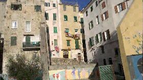 citta vecchia affresco