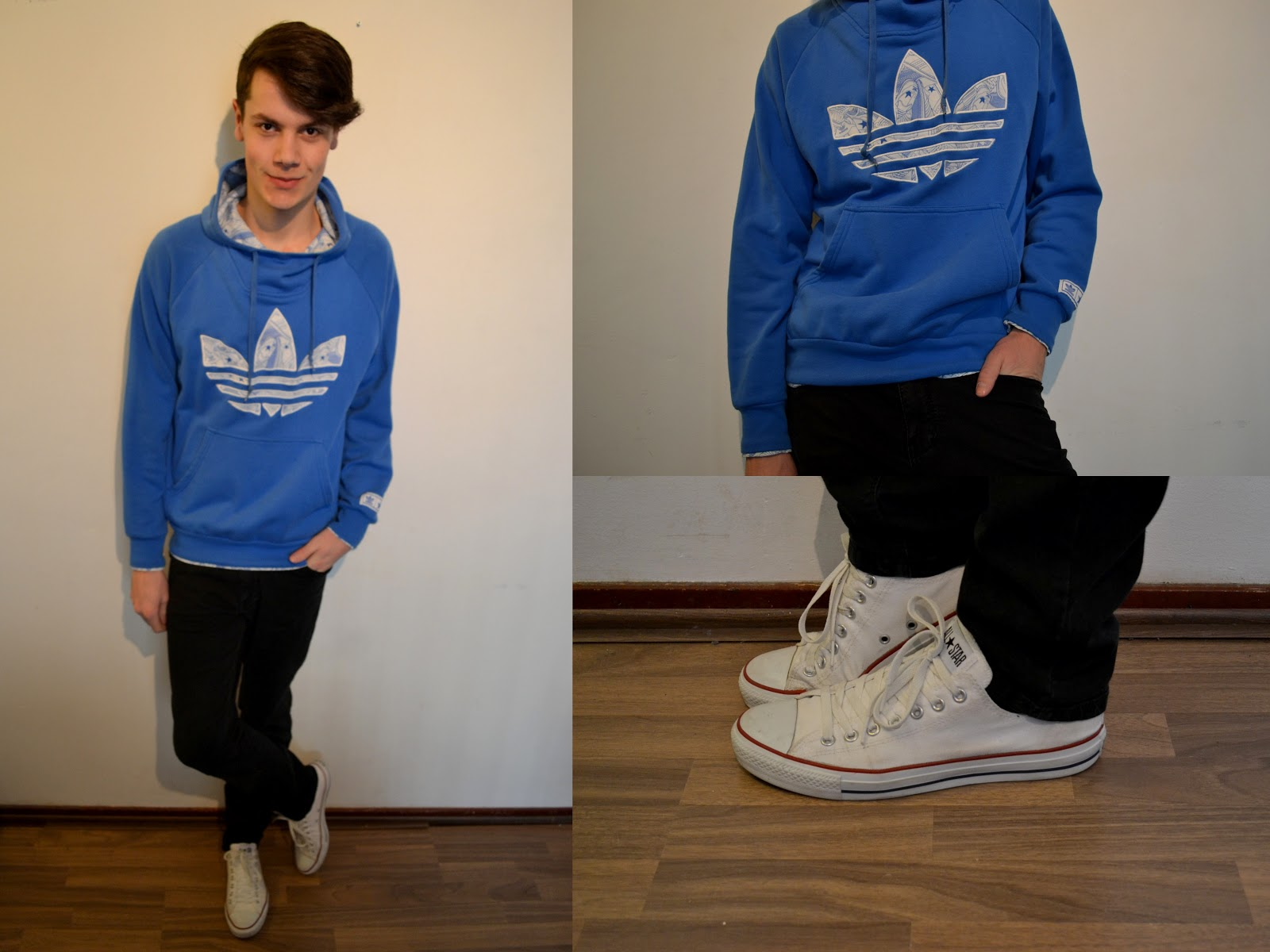 High top converse outfits men