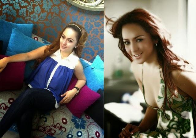 Foto-foto Regina Jubir Farhat Abbas yang cantik seksi
