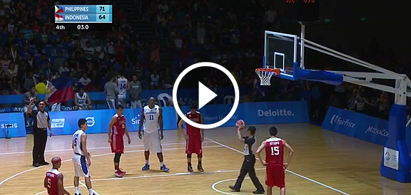 Gilas Cadets def. Indonesia, 72-64 (REPLAY VIDEO) SEA Games 2015 Men's Basketball Finals / June 15