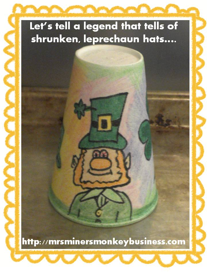 https://www.teacherspayteachers.com/Product/Lucky-Leprechaun-and-the-Incredible-Shrinking-Hat-Project-213067