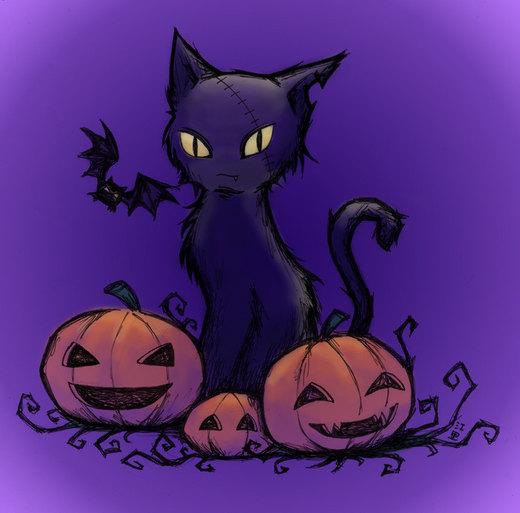 Happy Halloween por Yaone-chan
