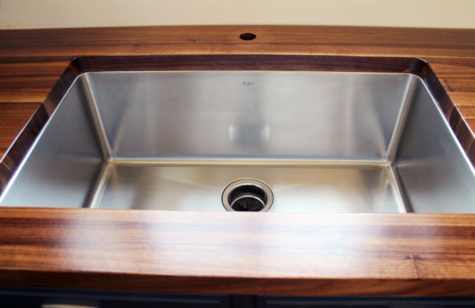 Countertop Lavatory Sink : Everything And The Kitchen Sink Chris Loves Julia