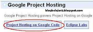 code google project hosting