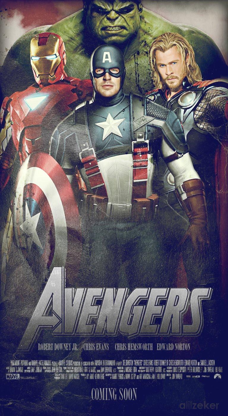Pelicula Los Vengadores 2012