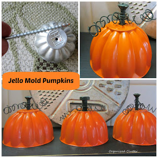Jello Mold Pumpkin Tutorial