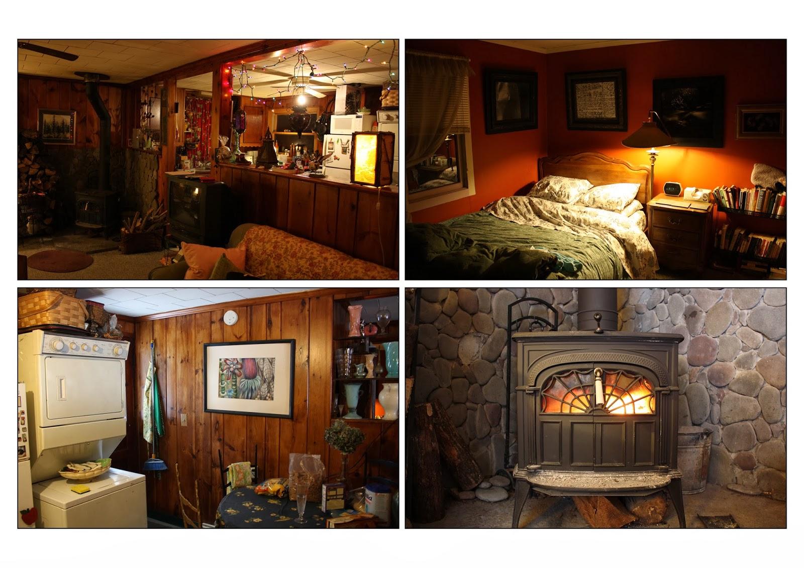 Nous 3 à New York Nuit dangoisse dans la Cabin in the Wood
