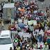 Diversas organizaciones marchan hacia la gobernación provincial y el ayuntamiento de Nagua