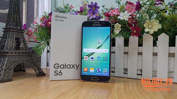 Đánh giá cấu hình của Samsung Gagalxy S6 Docomo