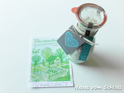 Post aus meiner Küche, Sommer im Glas- neuesvomschloss.blogspot.de