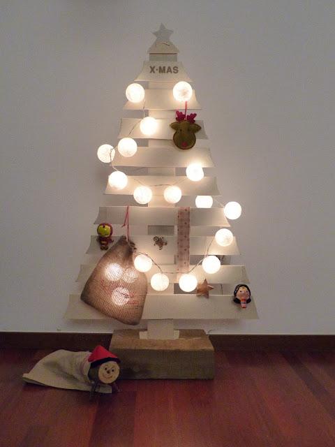 DIY Árbol de Navidad hecho con mucho cariño