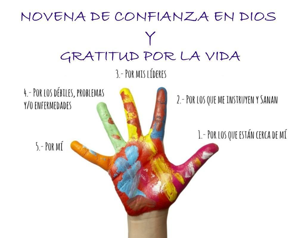 ♥ UNITE A ESTA NOVENA DE CONFIANZA EN GRATITUD A DIOS ♥