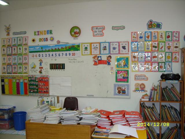 decorar sala de kinder : decorar sala de kinder:Etiquetas: Nuestra sala de clases , Recursos para decorar el aula