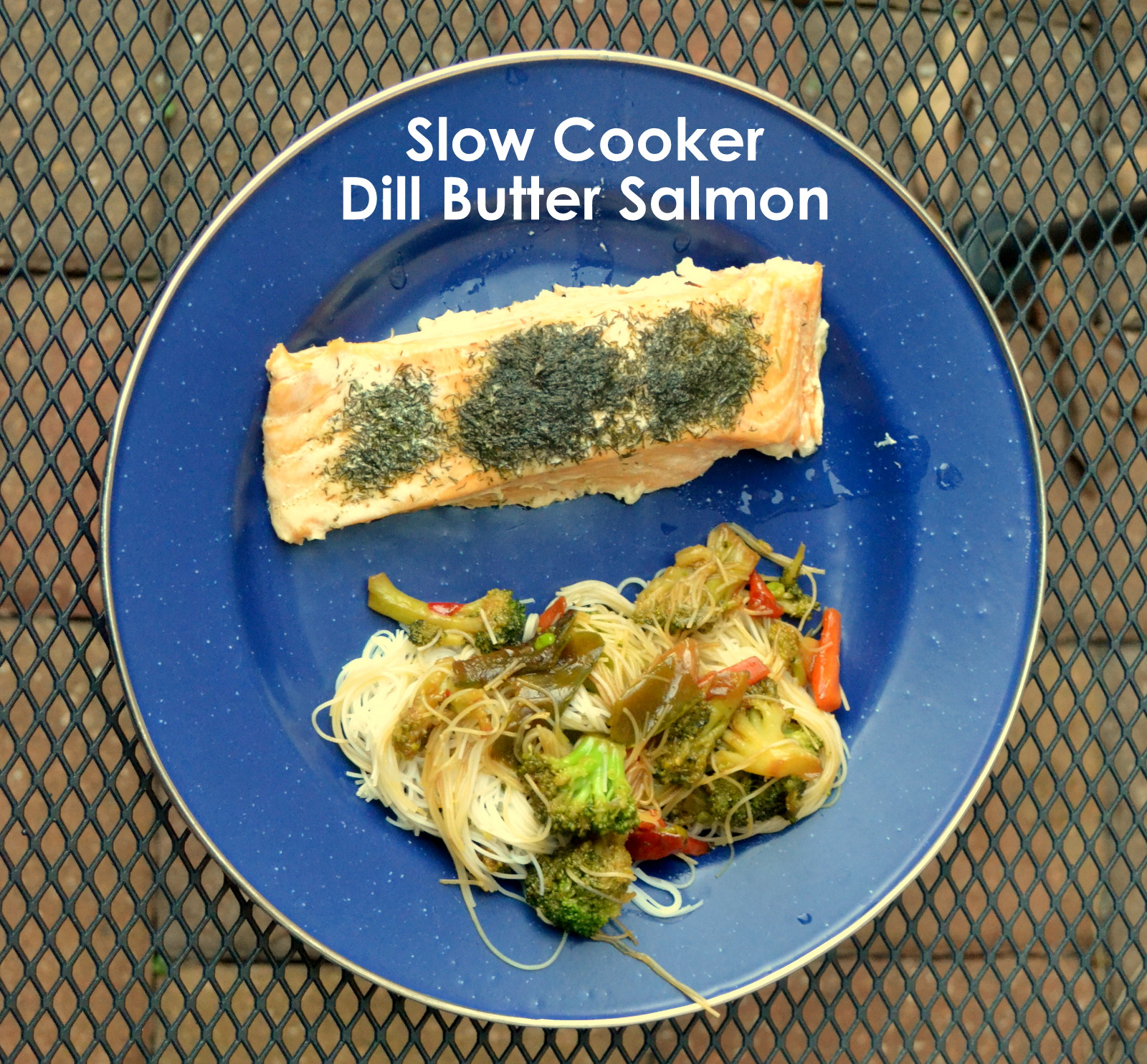 how to make dill butter for salmon