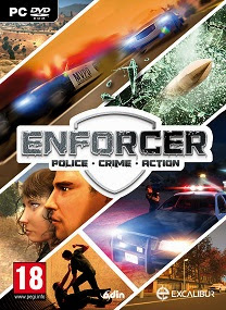 enforcer police crime action pc cover www.ovagames.com  Enforcer Police Crime Action CODEX