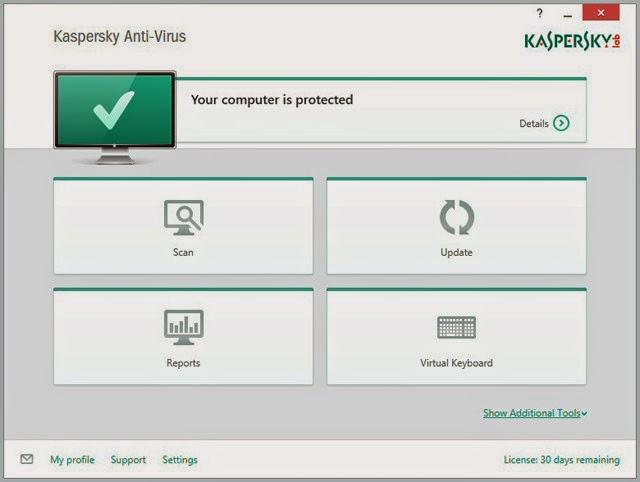 شرح برنامج كاسبر سكاي 2015 kaspersky anti-virus