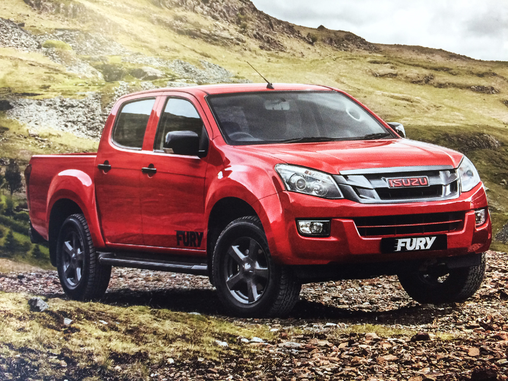 derek slack motors isuzu d max fury 4x4 double cab. Black Bedroom Furniture Sets. Home Design Ideas