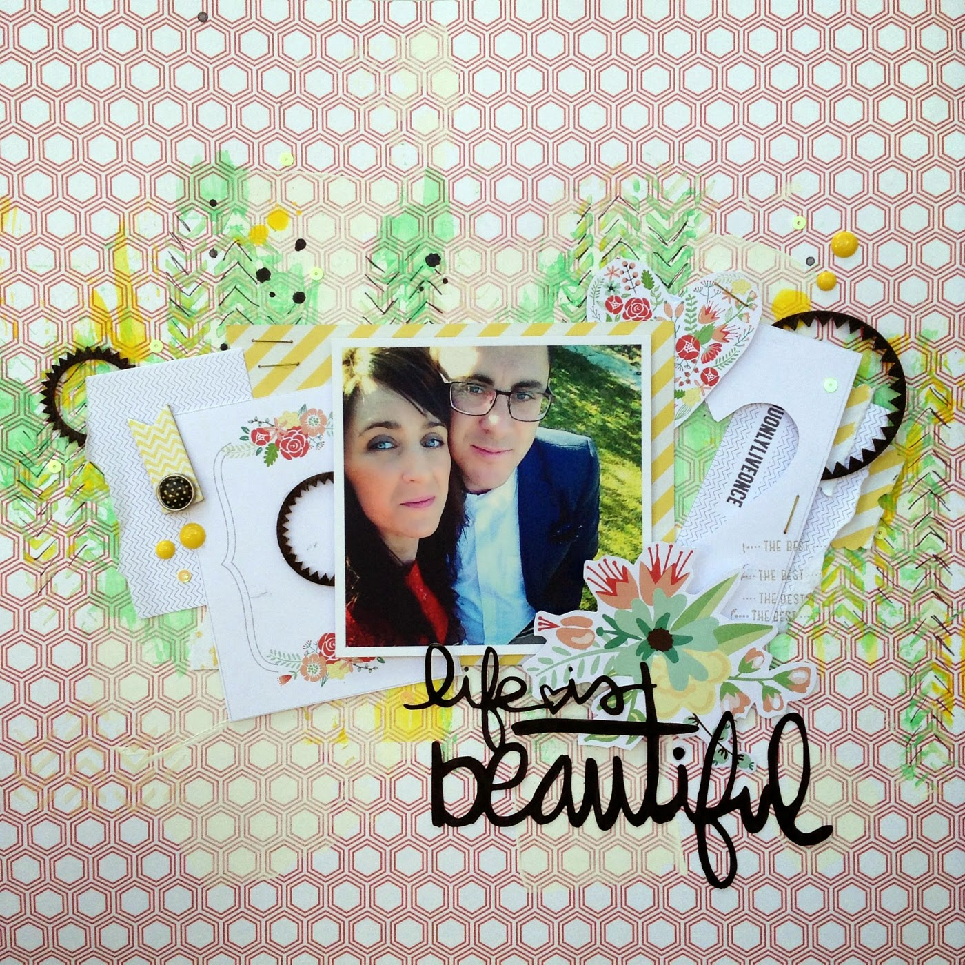 Layout Life is by Jezabel