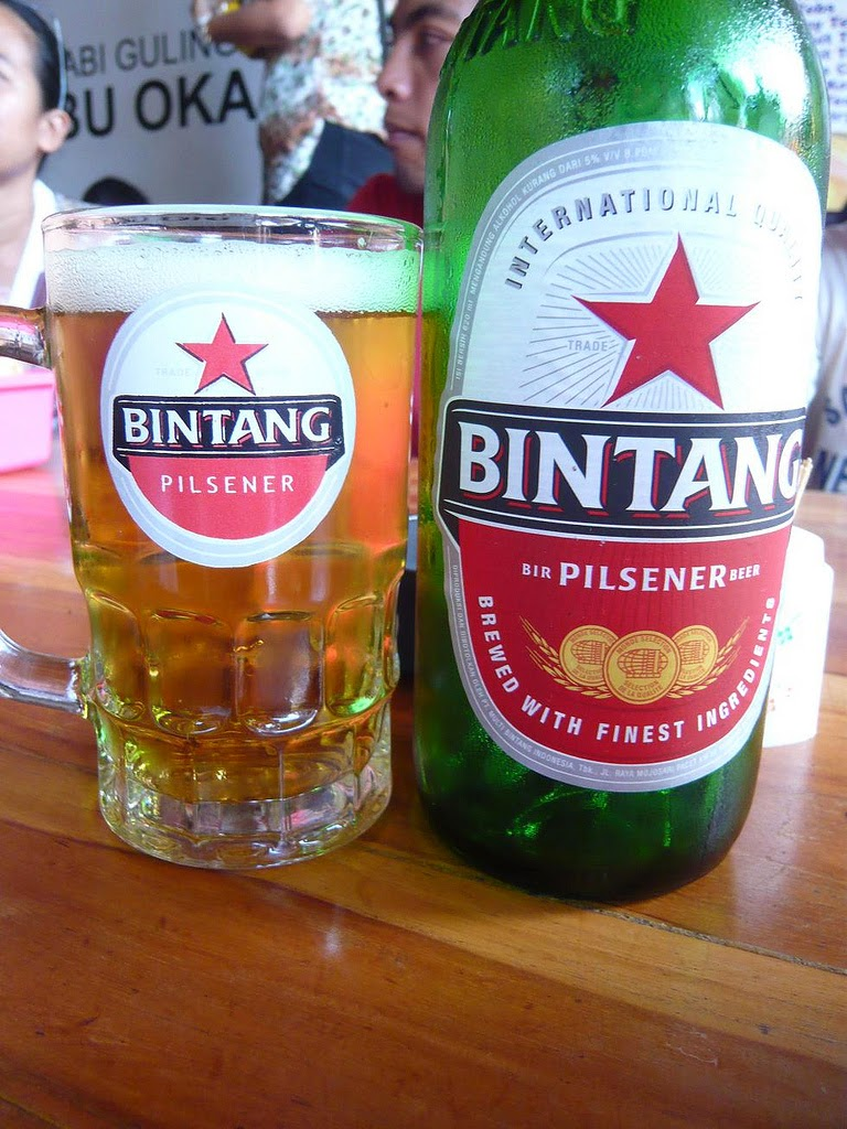 What band name Bintangs means - Bir Bintang - beer